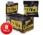 8 x BSc High Protein Balls White Choc Honeycomb70g 1