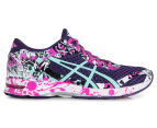 ASICS Women's GEL-Noosa Tri 11 Shoe - Parachute Purple/Aruba Blue/Pink Glow 1