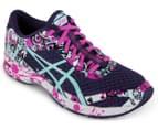 ASICS Women's GEL-Noosa Tri 11 Shoe - Parachute Purple/Aruba Blue/Pink Glow 2