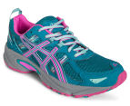 ASICS Women's GEL-Venture 5 Shoe - Ocean Depth/Pink Glow/Aruba Blue 2