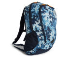 The North Face Vault Backpack - Cosmic Blue Print/Shocking Orange 2