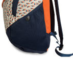 The North Face Double Time Backpack - Orange Rust/Tribal Tribute Print 5