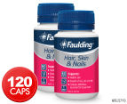 2 x Faulding Hair, Skin & Nails 60 Tabs 1