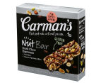 3 x Carman's Nut Dark Choc Espresso Bars 160g 5pk 3