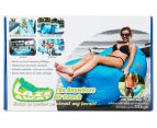 Laze Away The Anywhere Air Couch - Blue 1