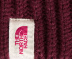 The North Face Purrl Stitch Beanie - Deep Garnet Red 5