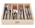 French-Inspired Replica 24Pc Cutlery Set - Mother Of Pearl 2