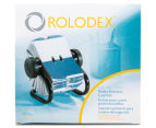 Rolodex 400 Rotary Business Card File - Black 1