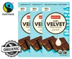 3 x Alter Eco Dark Velvet Organic Chocolate 80g 1