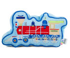 Freckles Trains Engine Shaped Cushion - Multi 1
