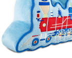 Freckles Trains Engine Shaped Cushion - Multi 4