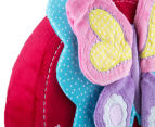Freckles Flutterby Butterflies Round Shaped Cushion - Multi 4