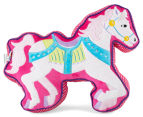 Freckles Fairground Horse Shaped Cushion - Multi 1