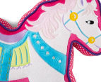 Freckles Fairground Horse Shaped Cushion - Multi 5