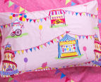Freckles Fairground Double Bed Quilt Cover Set - Multi 4