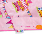 Freckles Fairground Double Bed Quilt Cover Set - Multi 6