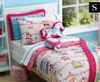 Freckles Fairground Single Bed Quilt Cover Set - Multi 1