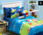 Freckles Good Knight Single Bed Quilt Cover Set - Multi 1