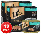 2 x Dine Desire w/ Pure Tuna Whitemeat 6pk 1