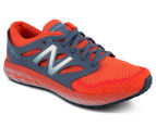 New Balance Women's Fresh Foam Boracay v2 Running Shoe - Orange/Grey 2