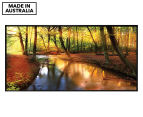 Sunkissed Forest 50x25cm Framed Wall Art 1