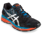ASICS Men's GEL-Nimbus 18 Shoe - Onyx/Silver/Blue Jewel 2