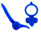 B Swish Bcharmed Classic Massaging Ring - Albert Blue 3