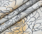 Sheridan Flourish King Bed Tailored Quilt Cover Set - Sand 5