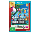 Nintendo Wii U Selects: New Super Mario Bros U + Luigi U Game Bundle 1