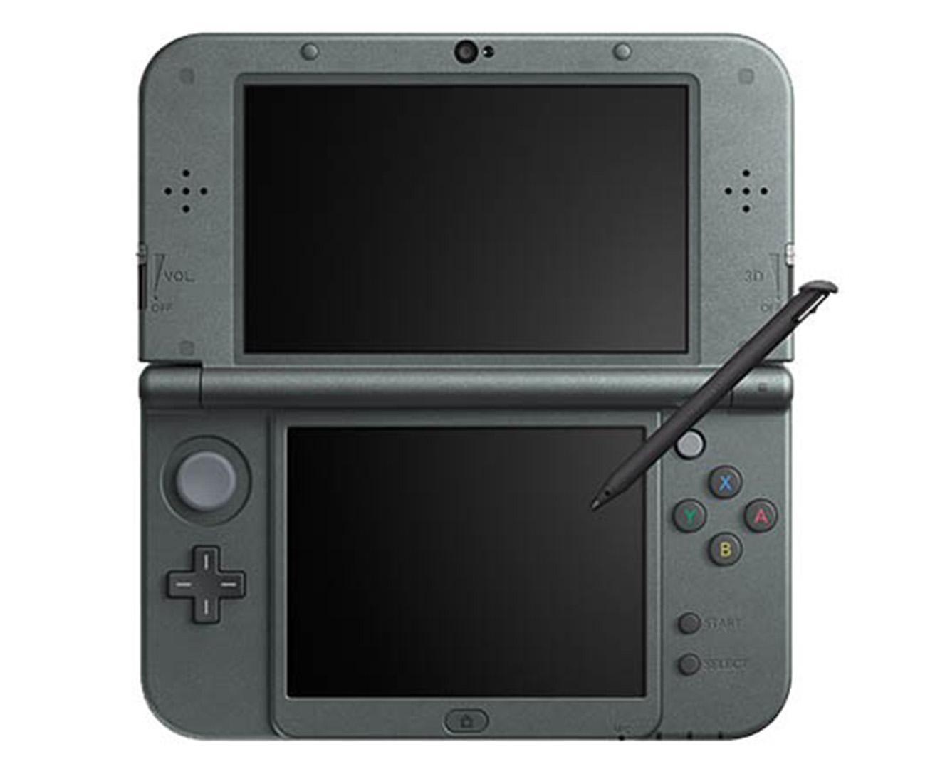 Nintendo 3ds xl game console metallic black ebay - Nintendo 3 ds xl console ...