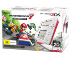 Nintendo 2DS Game Console + Mario Kart 7 (Pre-Installed) - White/Red 2