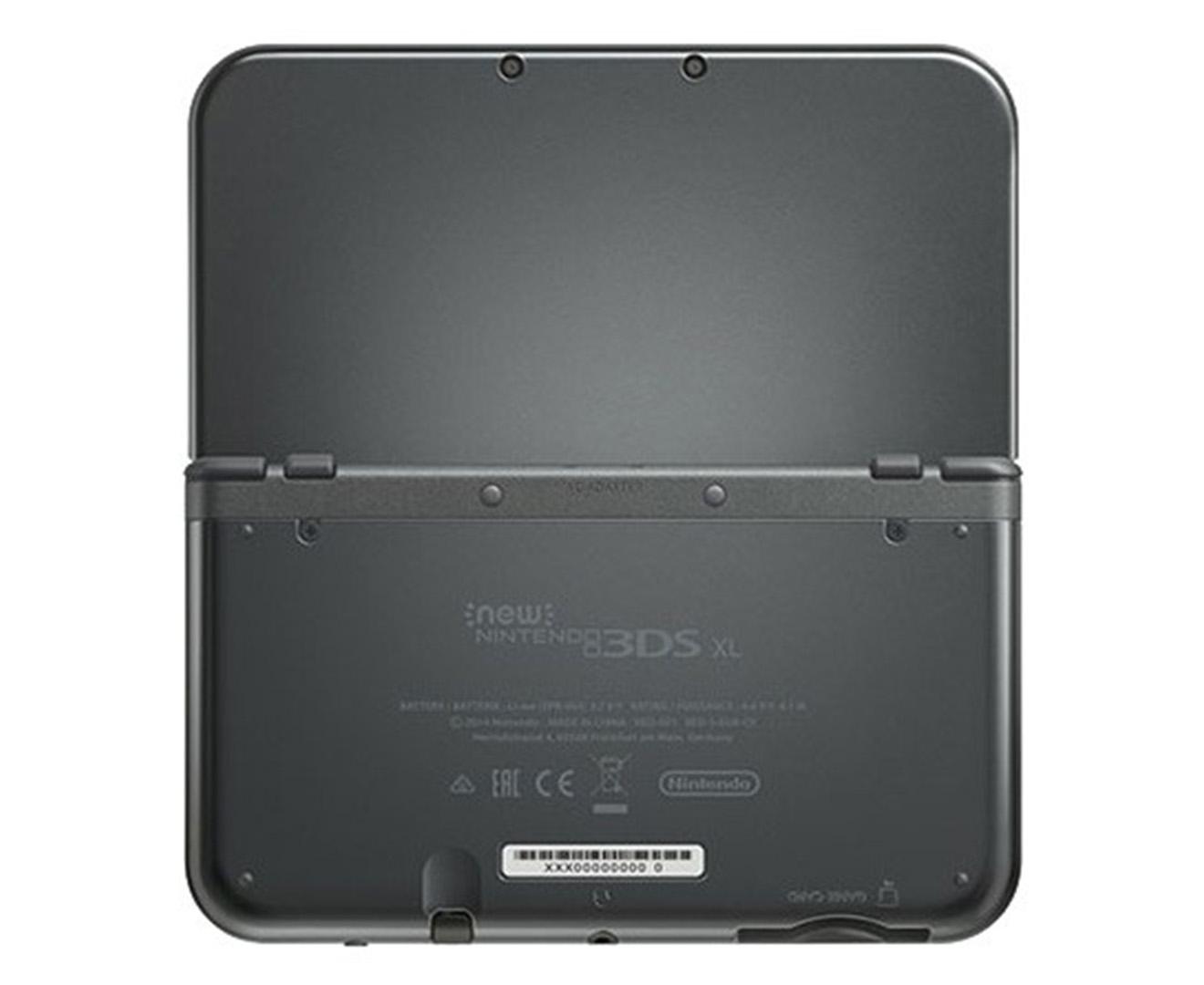 nintendo 3ds xl game console metallic black ebay. Black Bedroom Furniture Sets. Home Design Ideas