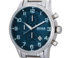 Hugo Boss Men's 44mm Aeroliner Watch - Silver 3