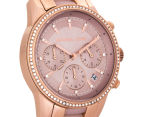 Michael Kors Women's 37mm Ritz Chronograph Watch - Rose Gold/Blush 2