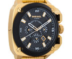 Diesel Men's 57mm BAMF Chonograph Watch - Gold/Black 2