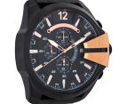 Diesel Men's 59mm Mega Chief Chronograph Watch - Black/Rose Gold 2