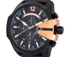 Diesel Men's 59mm Mega Chief Chronograph Watch - Black/Rose Gold 3