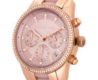 Michael Kors Women's 37mm Ritz Chronograph Watch - Rose Gold/Blush 3