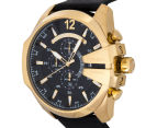 Diesel Men's 59mm Mega Chief Chronograph Watch - Black/Gold 3