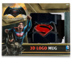 Batman V Superman 3D Logo Mug - Dark Blue 6