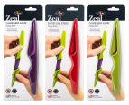 2 x Zeal Guide & Glide Smart Cover Paring Knife - Randomly Selected 2