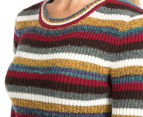 Wrangler Women's Marianne Sweater - Multi Stripe 6