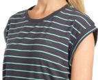 Mossimo Women's Hollie Tee - Storm/Mojito 6