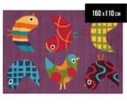 Asiatic Hand Tufted 160x110cm Birds Rug - Multi 1