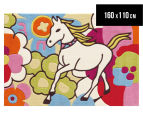 Asiatic Hand Tufted 160x110cm Magic Unicorn Rug - Multi 1