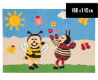 Asiatic Hand Tufted 160x110cm Bees Rug - Multi 1