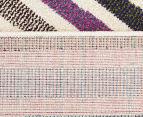 Antares 230x160cm Bohemian Rug - Pastel Stripe 6