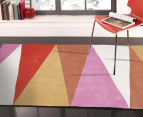 Desire 280x190cm Board Game Rug - Pink 2