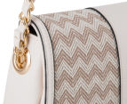 Kardashian Kollection Wave Of Emotion Crossbody Bag - Beige/White 5