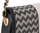 Kardashian Kollection Wave Of Emotion Crossbody Bag - Black/Beige 5